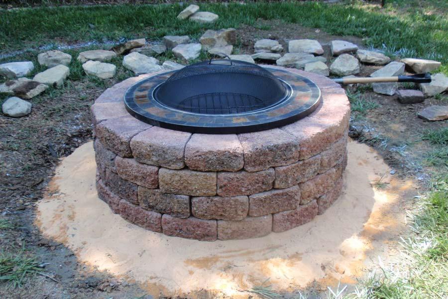 Brick Fire Pit Home Like Feeling In Your Garden Fire