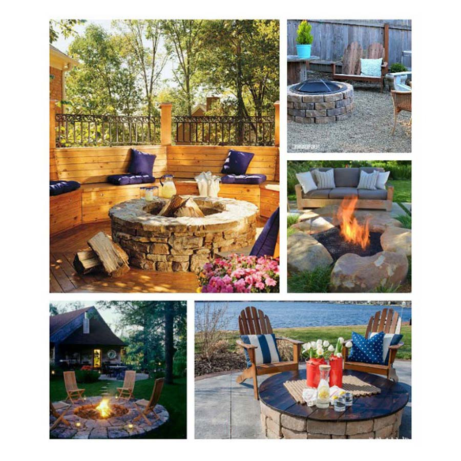Backyard Fire Pit Landscaping Ideas: Fire Pit Designs – Create A Cozier Ambience At Home