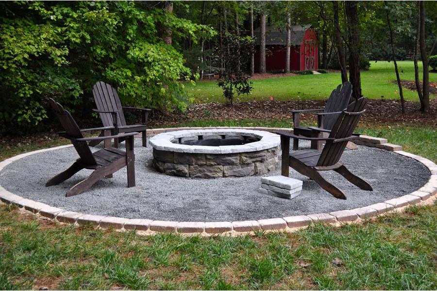 Small Backyard Fire Pit Ideas | Backyard Design & Backyard Ideas