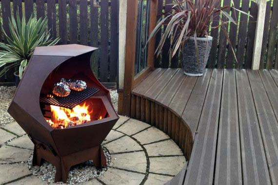 Fire Pit Grill Warm Evenings And Tasty Grilled Meals In