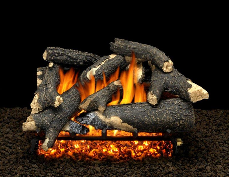 Gas Fireplace Embers Add Natural Attractive Look To Your