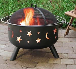 Landmann 28345 Big Sky Stars and Moons Firepit photo