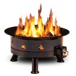 Mega 850 Propane Outdoor Fire Pit photo