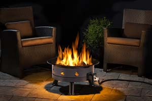 Outland Firebowl Mega 850 Propane Outdoor Fire Pit photo