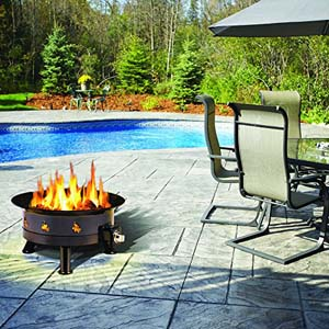 Outland Firebowl Mega 850 Propane Outdoor Fire Pit photo 3