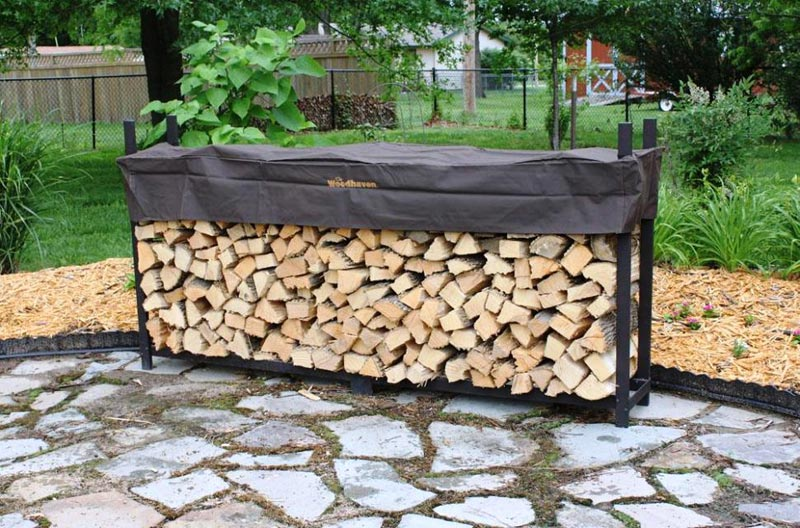 How To Build A Firewood Rack Discover A Cheap Yet