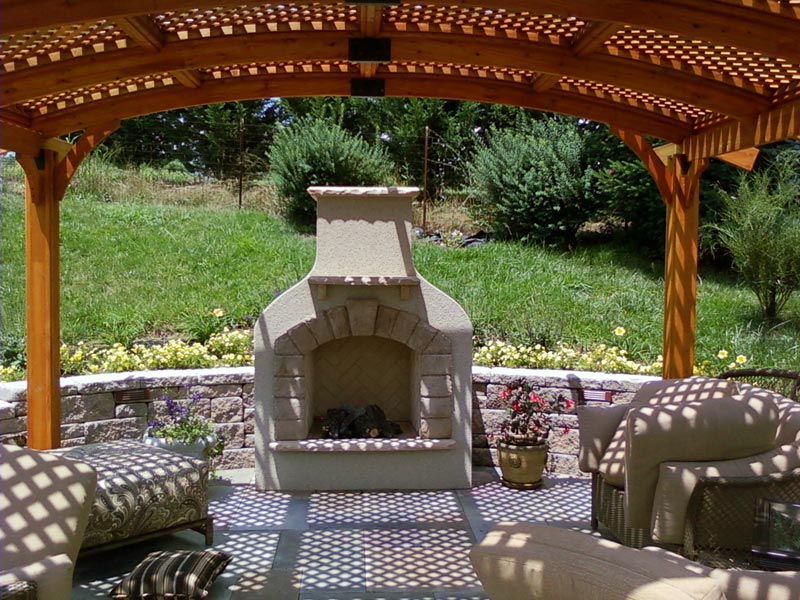 Pergola With Fire Pit: Create Your Own Oasis   Fire Pit ... on Pergola Fire Pit Ideas id=13213
